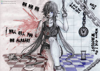 Heaven of pleasure but prison of guilt? (Yuno) by CaptainGhostly