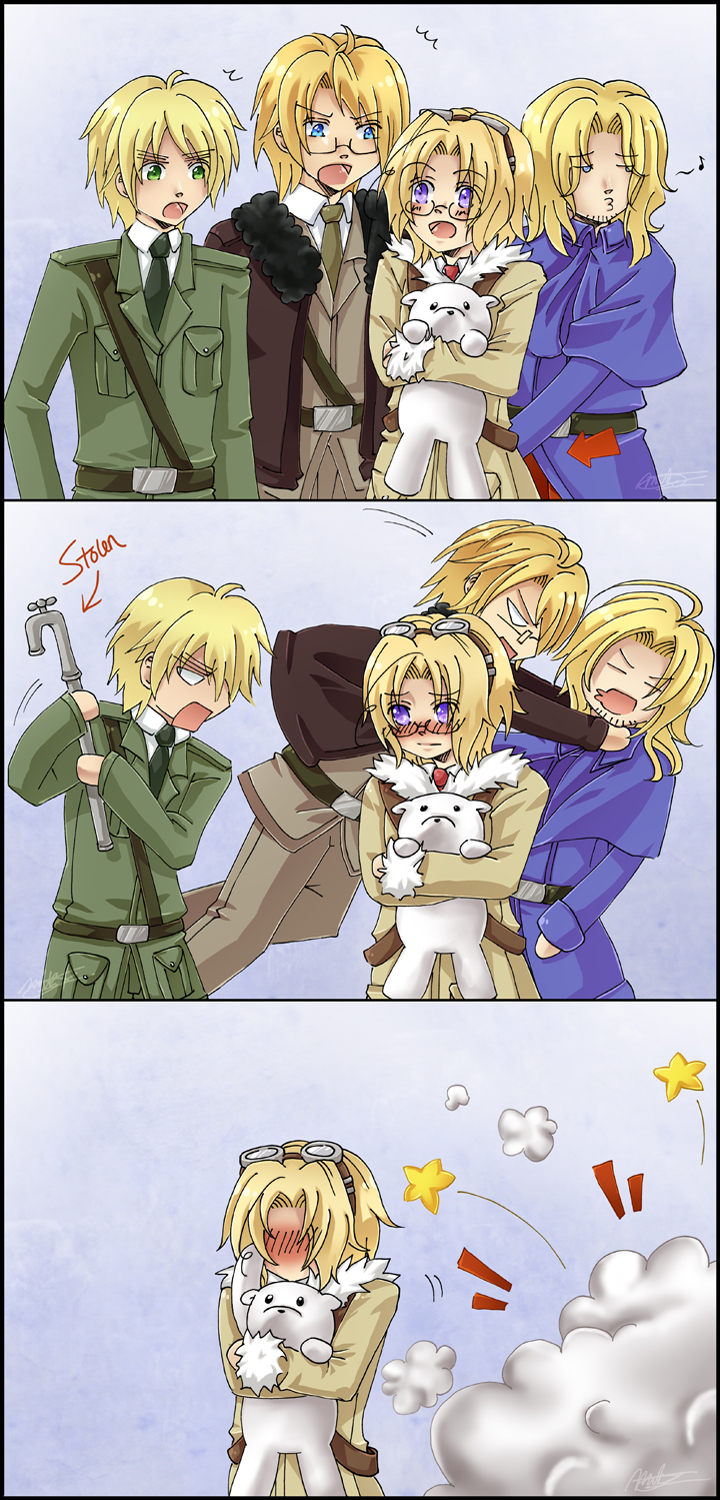 APH - Dysfunctional Family by mikokume-raie