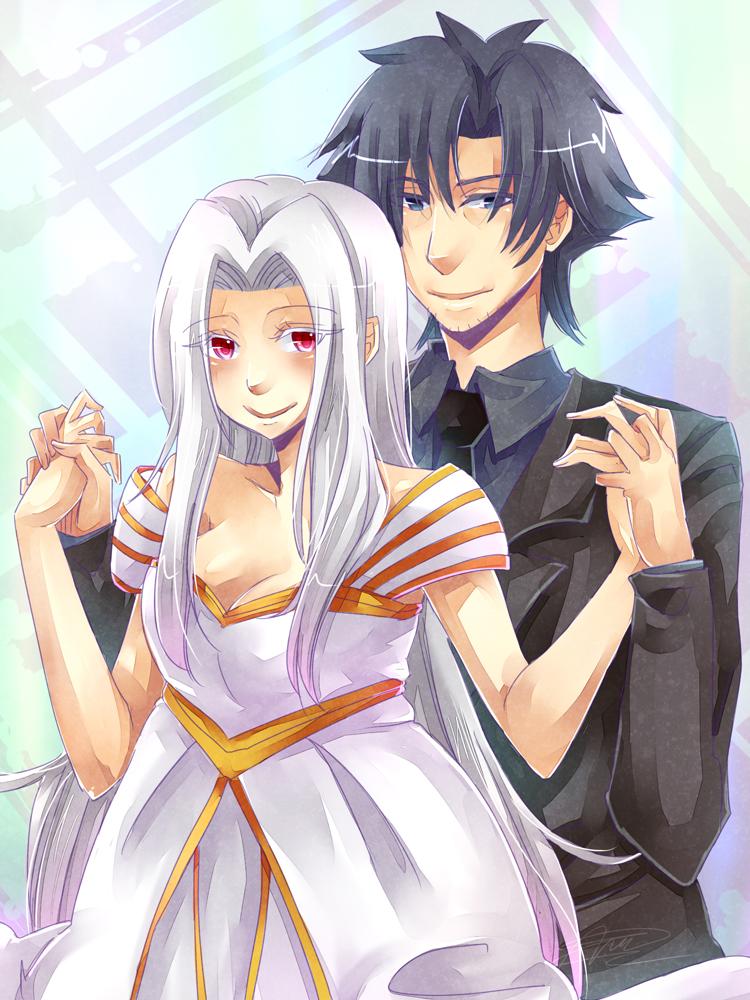 Fate/Zero - Kiritsugu + Irisviel by mikokume-raie