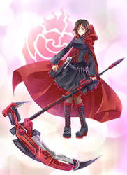 RWBY - Ruby Rose by mikokume-raie
