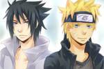 Sasuke + Naruto