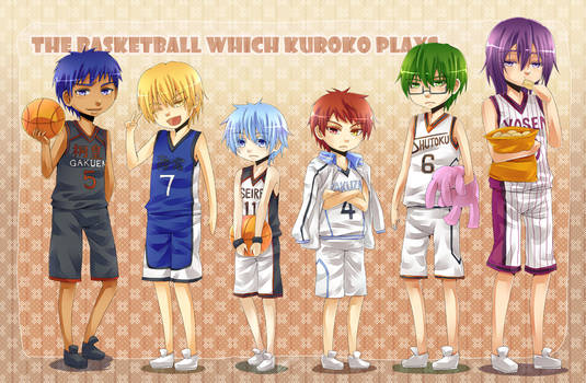 KnB - Chibi Generation of Miracles