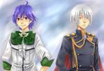 BKCBBL - Atsushi + Kinshirou by mikokume-raie