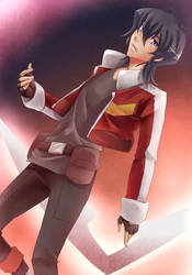 Voltron Legendary Defender - Keith Kogane by mikokume-raie