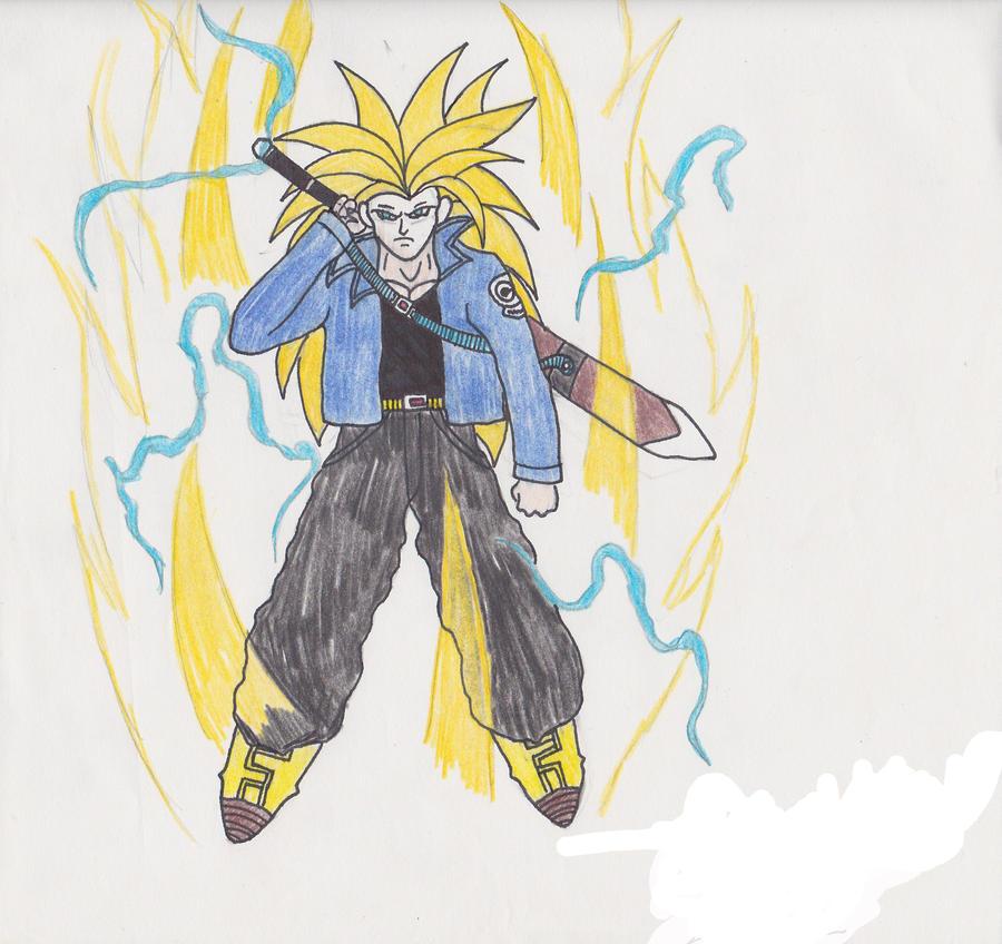 Super Saiyan 3 Future Trunks by dbzfanboy on DeviantArt