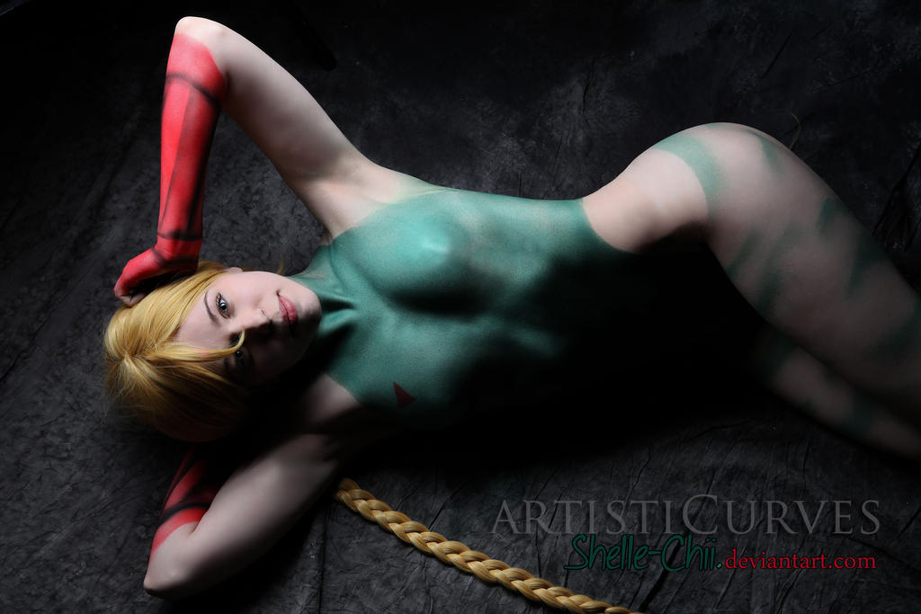 Cammy Body Paint 7 by shelle-chii