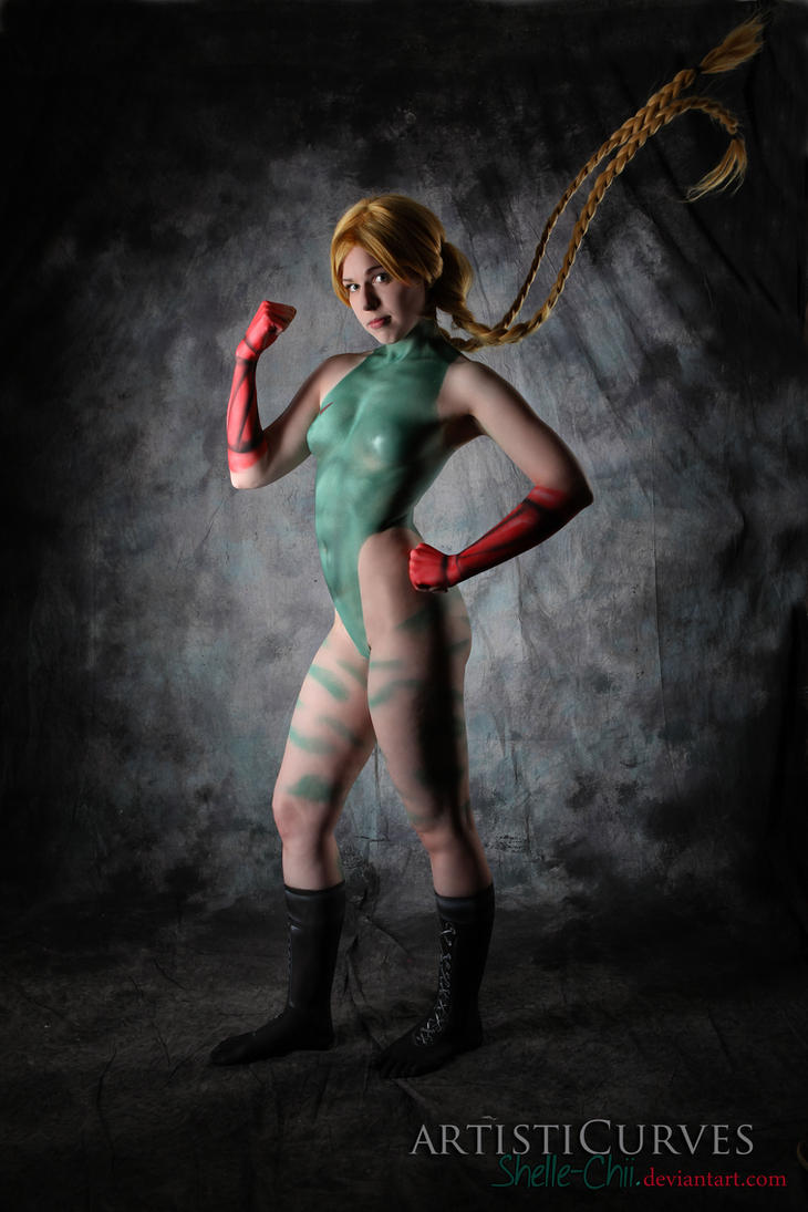Cammy Body Paint 2 by shelle-chii
