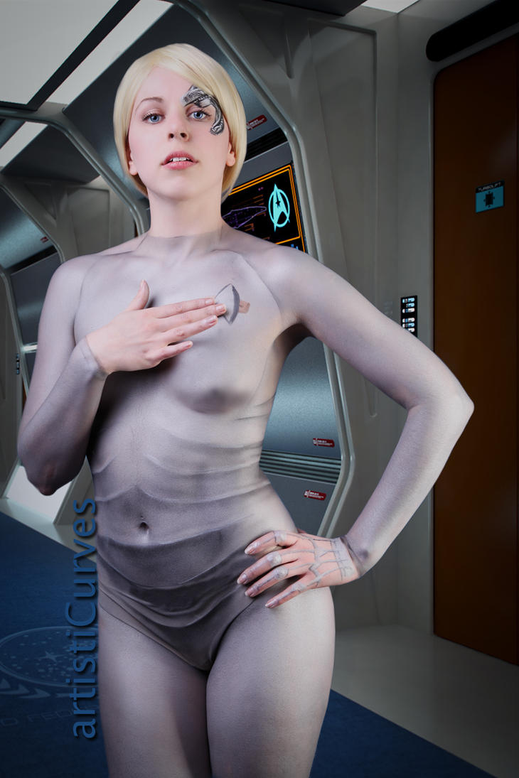 Seven of Nine body paint 4 by shelle-chii