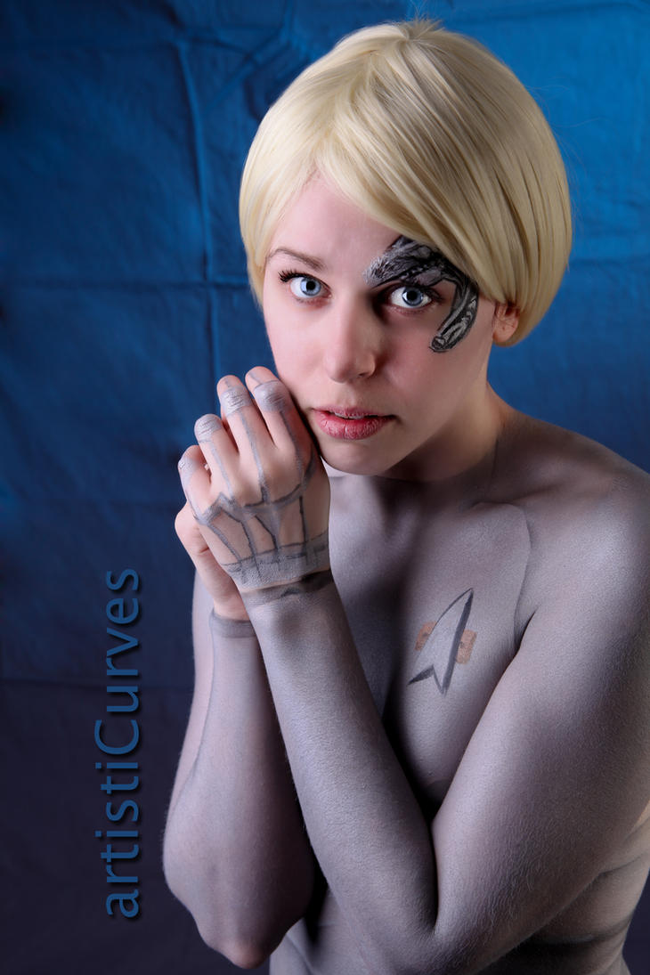Seven of Nine body paint 14 by shelle-chii