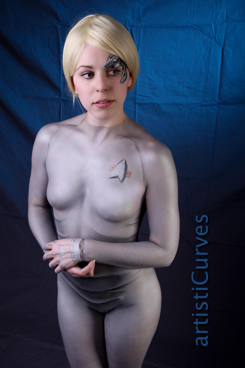 Seven of Nine body paint 13 by shelle-chii