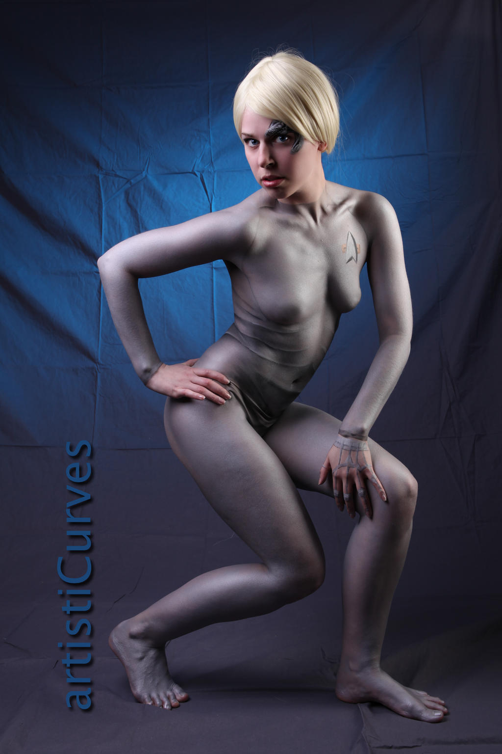 Seven of Nine body paint 12 by shelle-chii
