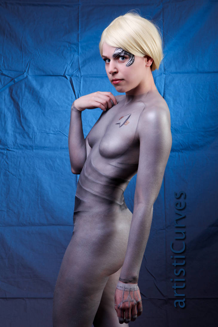 Seven of nine nude