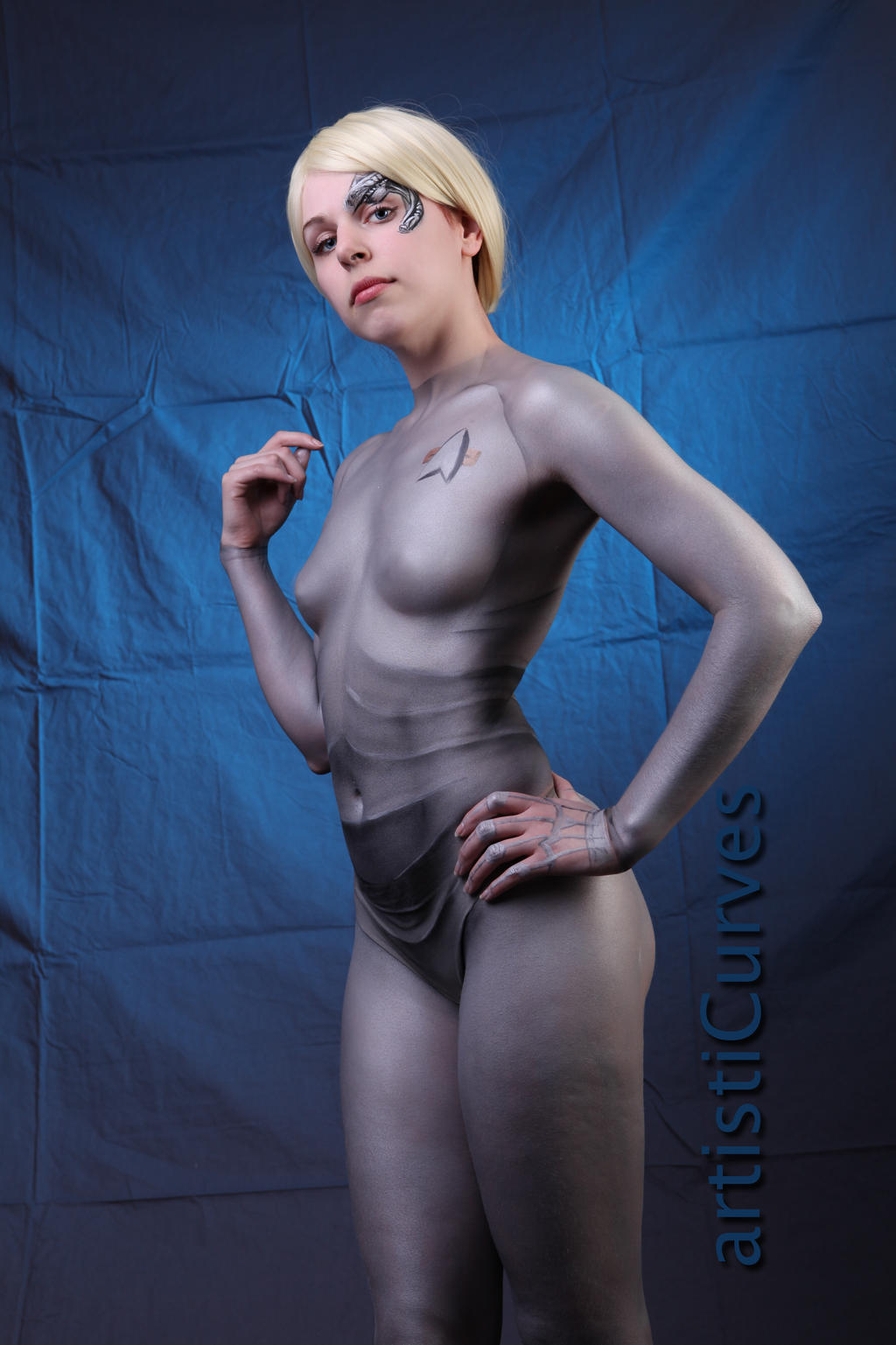 Seven of Nine body paint 6 by shelle-chii