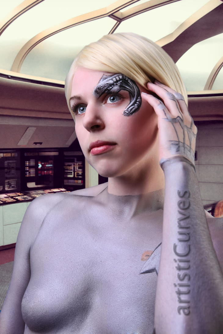 Seven of Nine body paint by shelle-chii