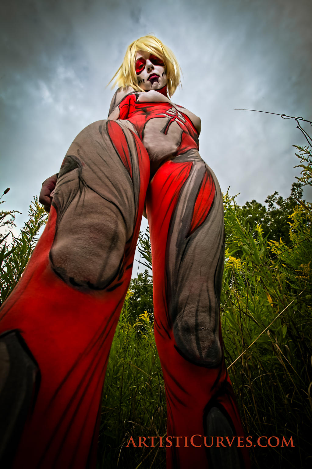 Annie Leonhardt- the Female Titan 2 by shelle-chii