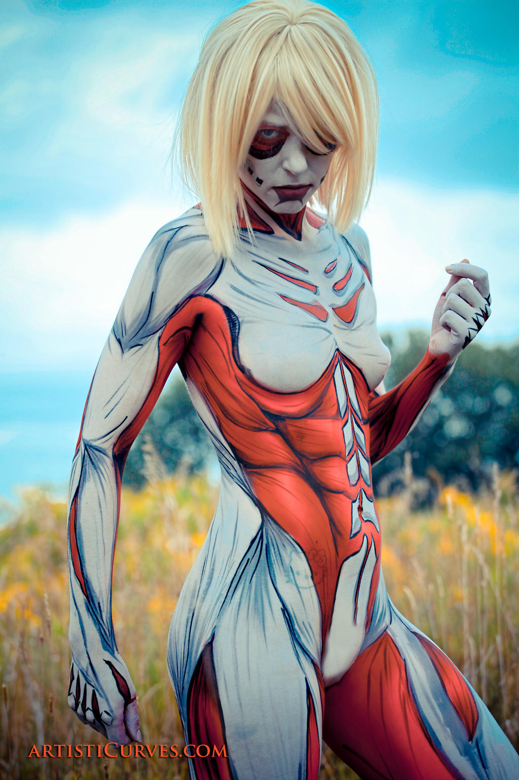 Annie Leonhardt- the Female Titan 3 by shelle-chii