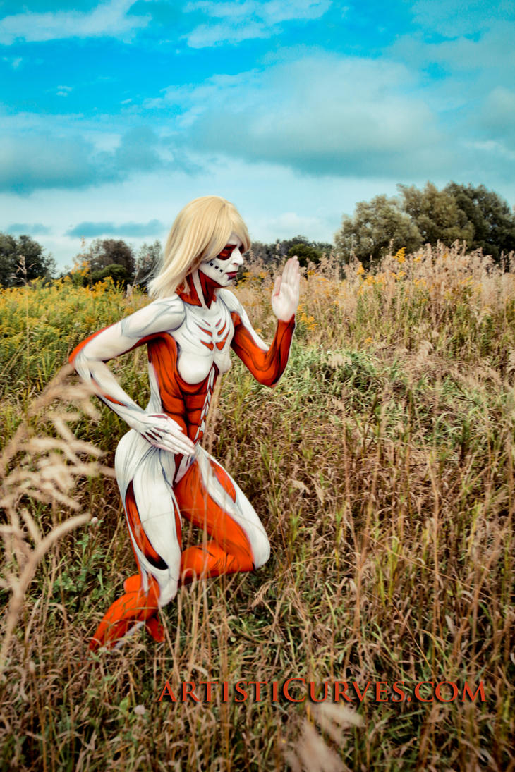 Annie Leonhardt- the Female Titan 4 by shelle-chii