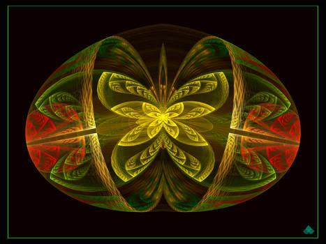 Golden Butterfly Breaks Free