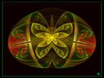 Golden Butterfly Breaks Free by zweeZwyy