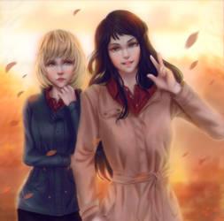 Mika and Susan by Angietatsu