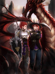 Knights by Angietatsu