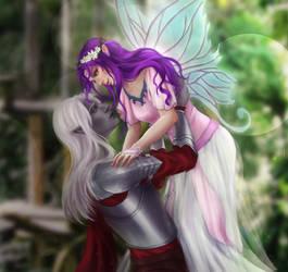 Rysrilmyr and Reylana by Angietatsu