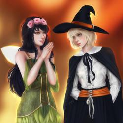 Mika and Susan 2 by Angietatsu
