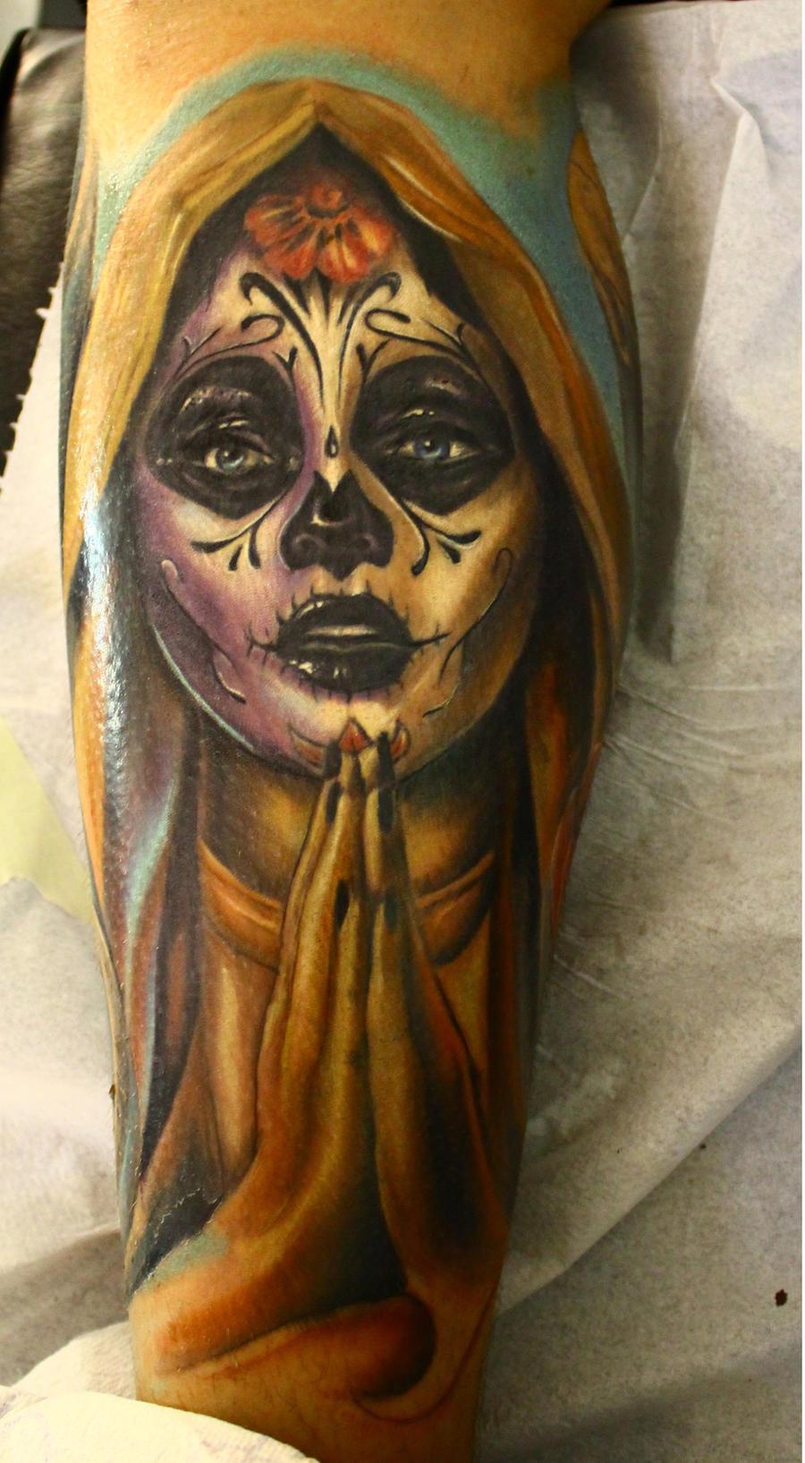 Dia de los muertos by proki on deviantart for Dia de muertos tattoos