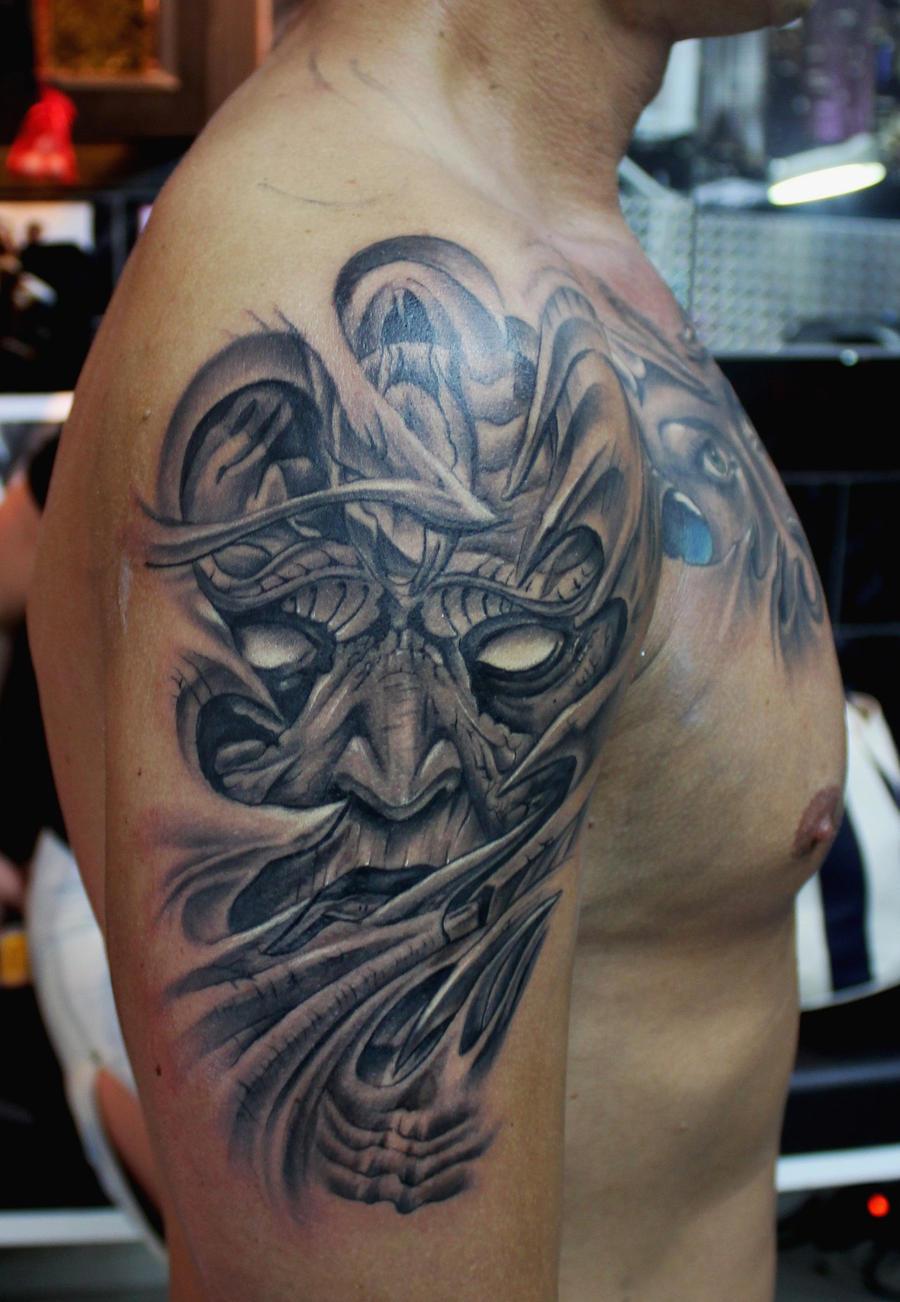 demon sleeve