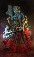 Troll Nethermancer by Enkidi