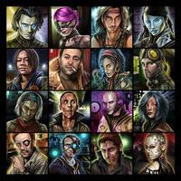 Endzeit Charaktere