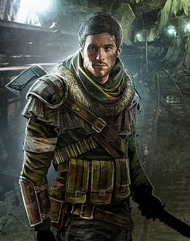 Metro 2033 - Andrej portrait