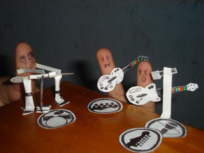 Finger RockBand by BlazBestia