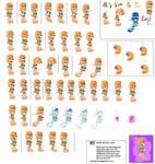 Tikal Sprite Sheet