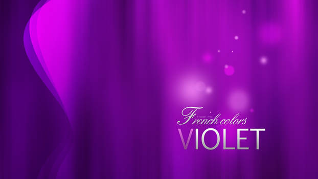 French Colors Violet