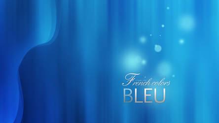 French Colors Bleu