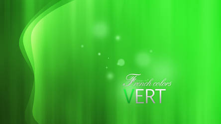French Colors Vert