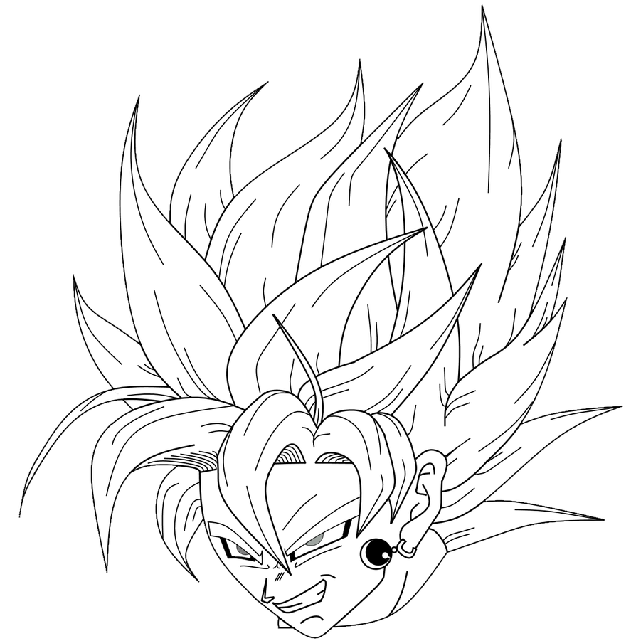 black goku finally scary by carlito89 on deviantart