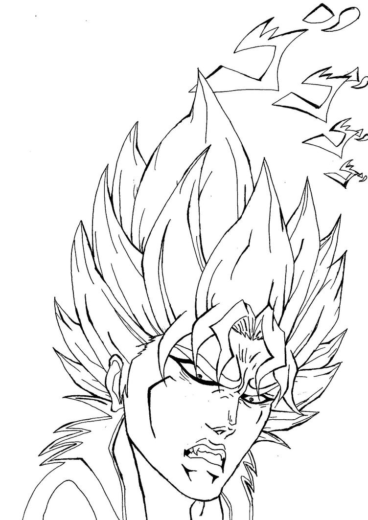 Dio Brando goes Super Saiyan ! by Carlito89