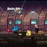 Angry Birds Rio iPad Background