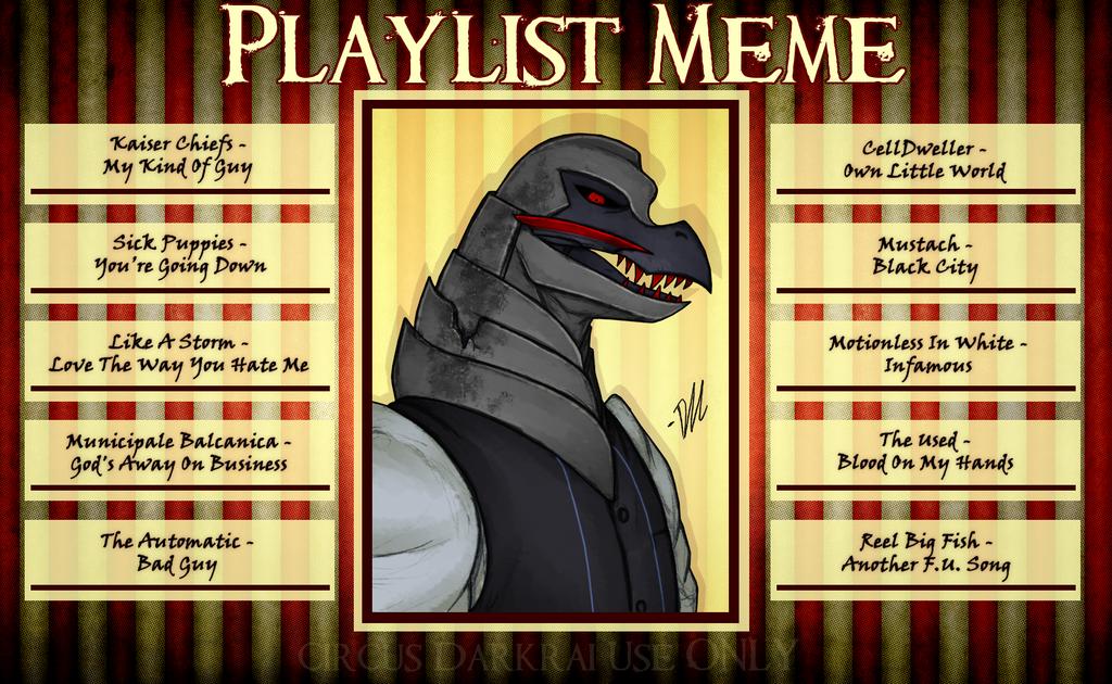 CD: Hax's Playlist by Derekari