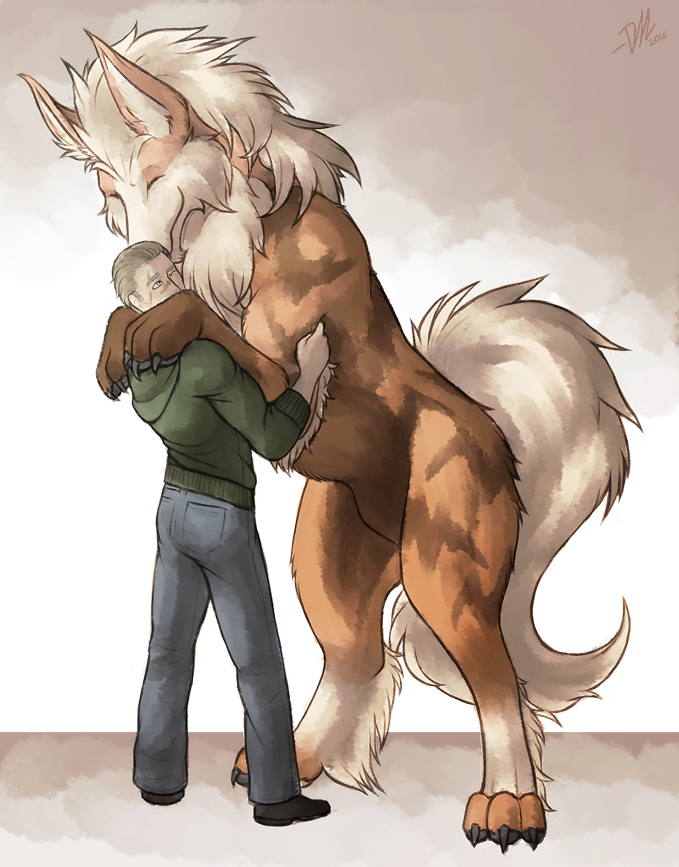 P-NO: Doge hugs by Derekari