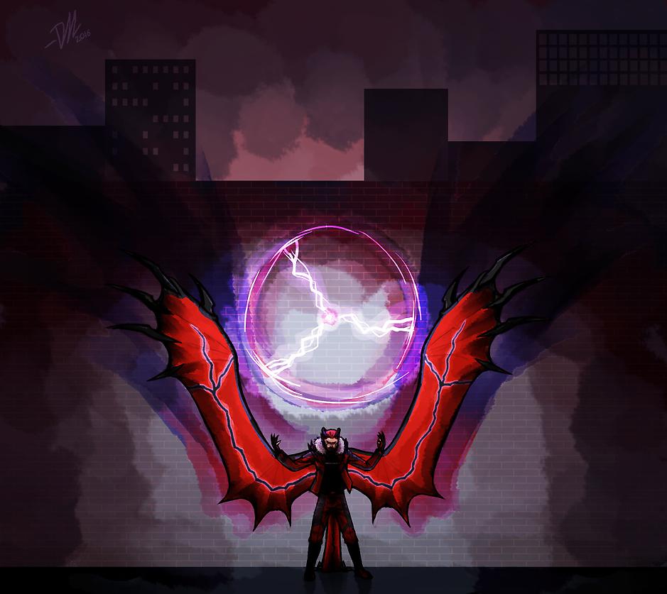 P-NO: Oblivion wing by Derekari
