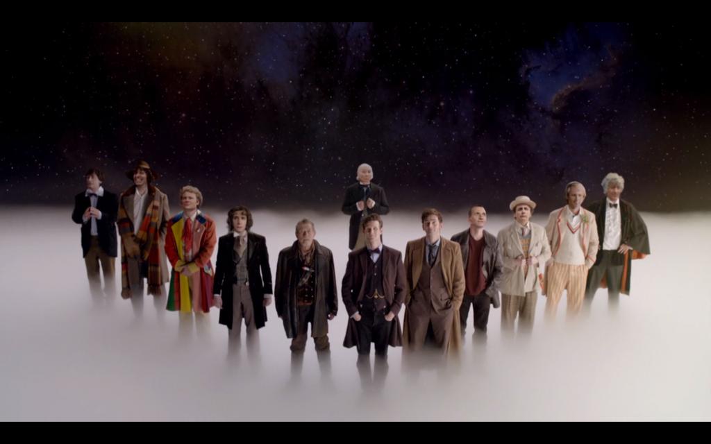 The Twelve Doctors by Void95
