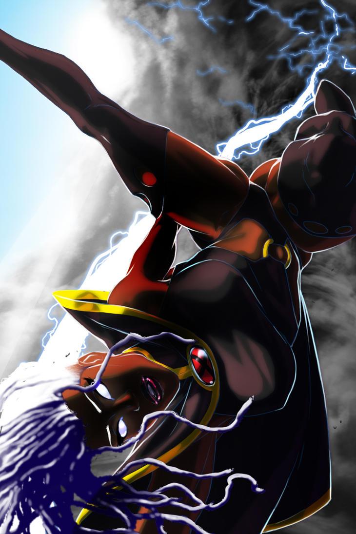 Storm lightning dance by NDGO