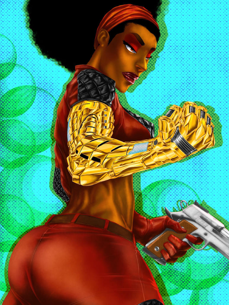 Misty Knight by NDGO