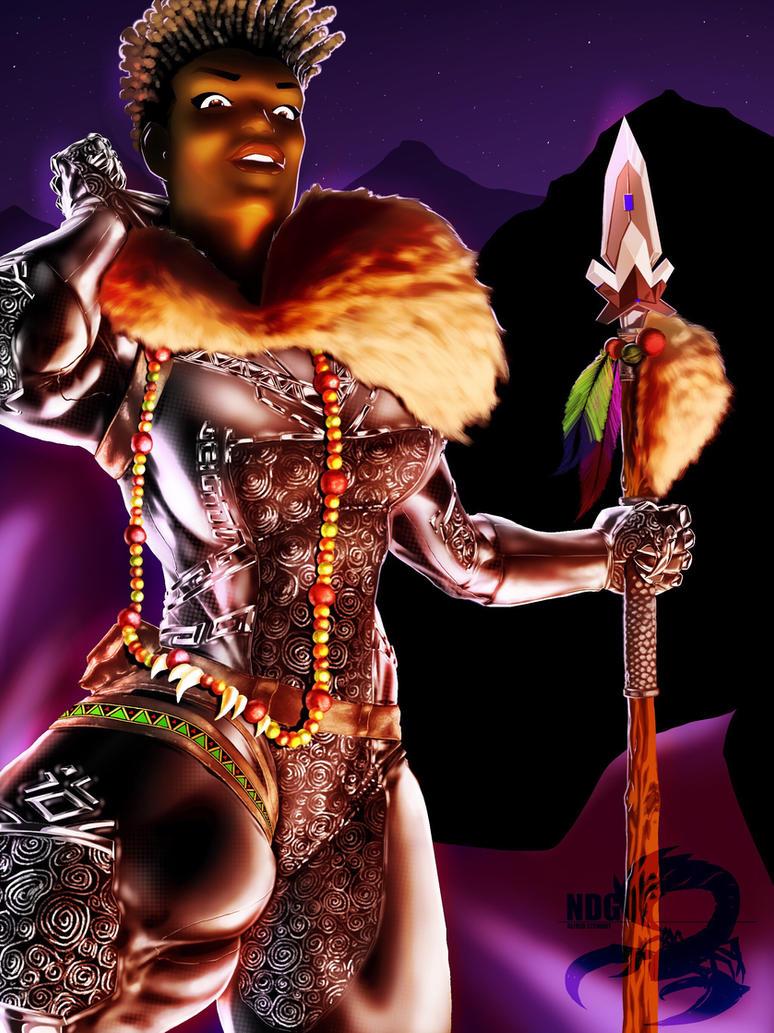 Shuri the Black Panther by NDGO