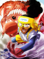 Moon Girl and Devil Dinosaur by NDGO