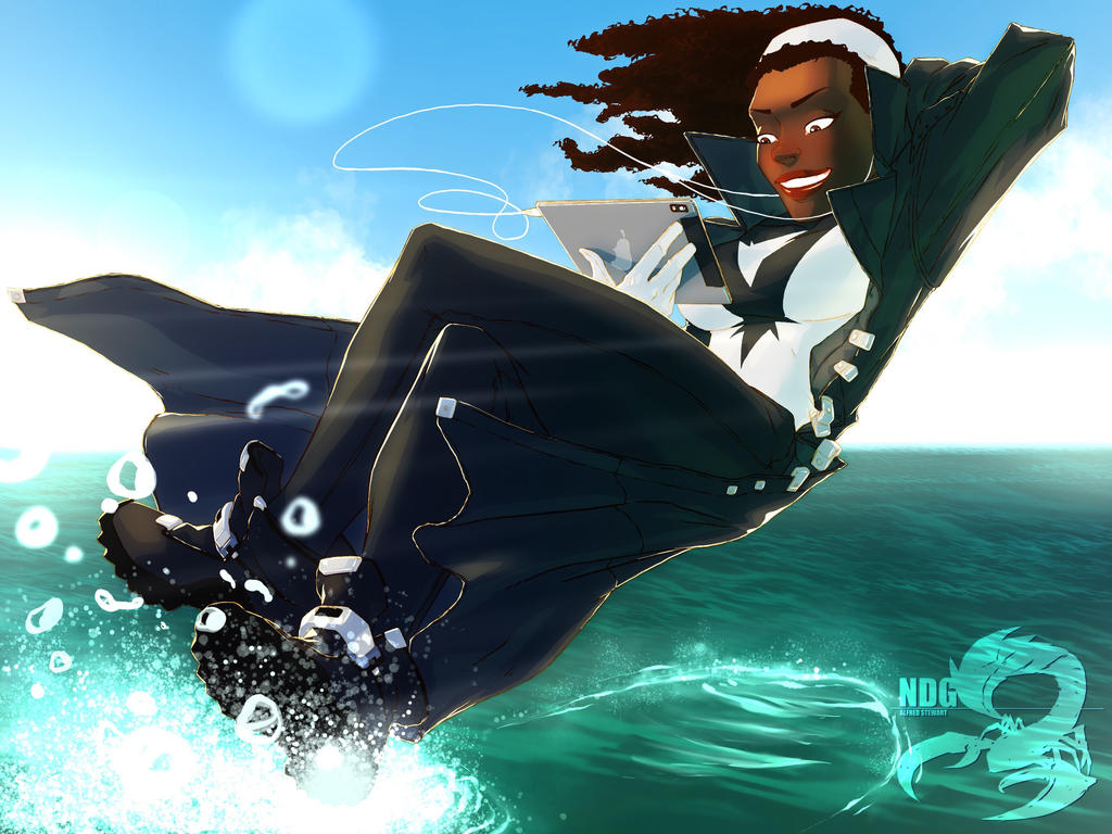 Captain Marvel (Monica Rambeau) by NDGO