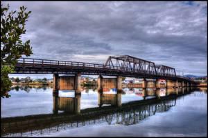 X100s bridge 3 frame HDR by Davenwolf